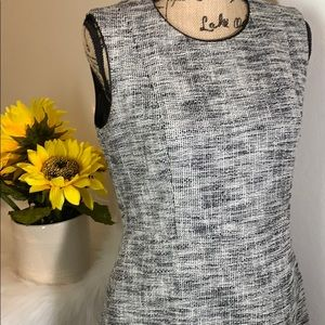 H&M Tweed Fit and Flare Dress Size 12